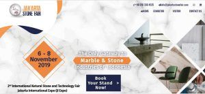 نمایشگاه سنگ طبیعی جاکارتا|معدن دهبید شایان